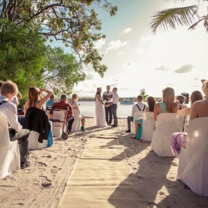 Gold Coast Island Wedding